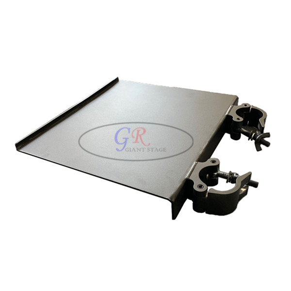 Laptop plate at the side for led screen ground support kit truss
