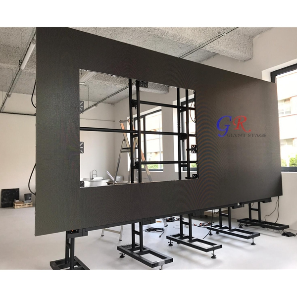 indoor outdoor led display screen concert led wall screen in Paris France