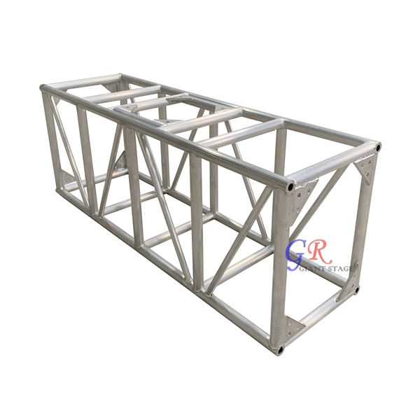 600x760mm Outdoor Aluminum Stage Frame Truss Structure Design