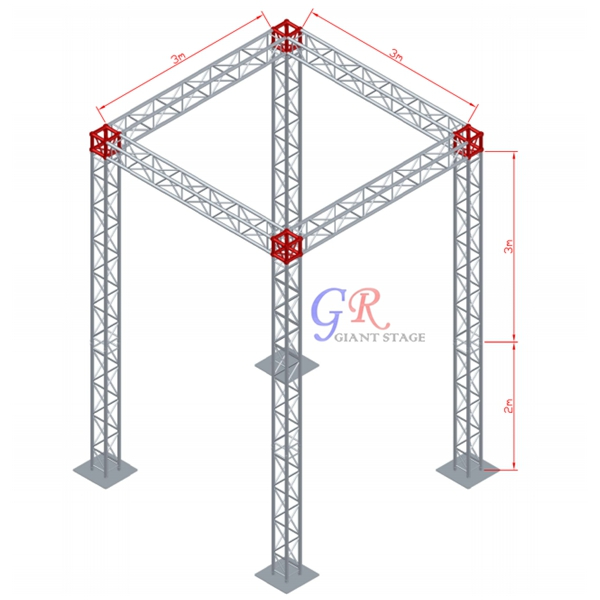 Entertainment & Exhibition Box Truss