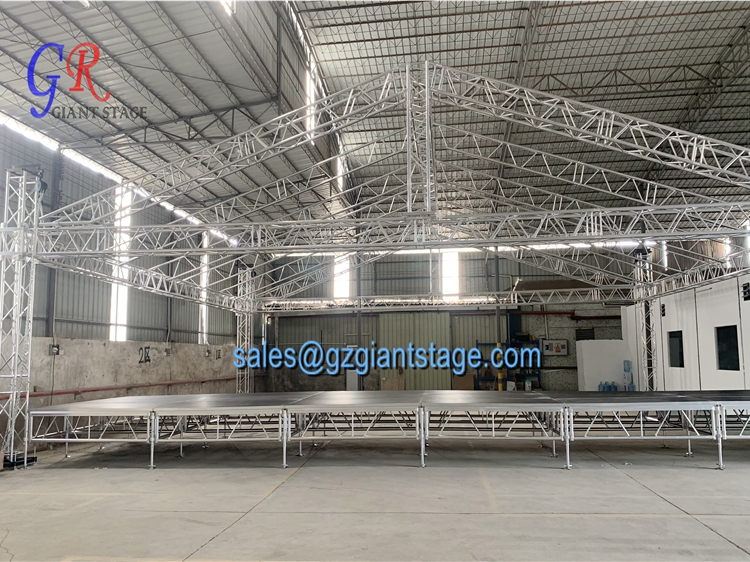 Concert stage roof truss structure design from GZ Giant Stage